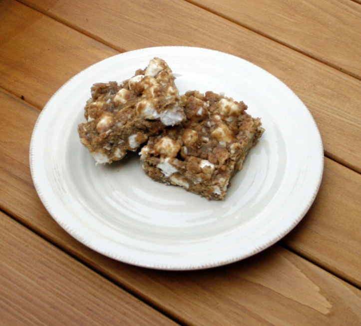 graham marshmallow bars