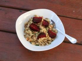 Beet Lentil Quinoa Salad