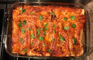 smoked turkey enchilada