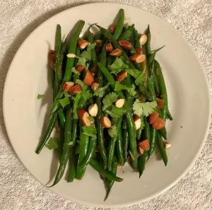 coriander green beans